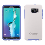 OtterBox - Symmetry Case for Samsung Galaxy S6 edge+ (White/Powder Purple)