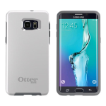 OtterBox - Symmetry Case for Samsung Galaxy S6 edge+ (White/Gray Glacier)