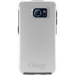 OtterBox Symmetry Case for Samsung Galaxy S6 edge+ - Glacier (White/Gunmetal Grey)