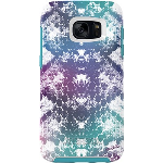 OtterBox SYMMETRY Case for Samsung Galaxy S7 - UNDER MY SKIN (AQUA BLUE/LIGHT TEAL/GRAPHIC)