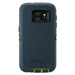 OtterBox Defender Case for Samsung Galaxy S7 - Meridian (CITRON GREEN/TEMPEST BLUE)