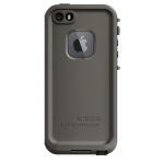 Lifeproof Fre Waterproof Case for Apple iPhone 5/5S/SE (Grind Gray)