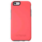 OtterBox Symmetry Case for Apple iPhone 6/6s - Prevail (CORAL/GUNMETAL GREY)