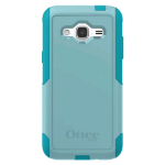 OtterBox Commuter Case for Samsung Galaxy J3 V (2016) - Aqua Sky (Aqua Blue/Light Teal)