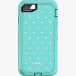 OtterBox Defender Series Case for Apple iPhone 7 (Blue/light Blue/Mini Dot)