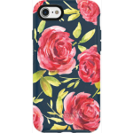 OtterBox Symmetry Case for Apple iPhone 7 - Bouquet (BLAZER BLUE/BLAZER BLUE/BOUQUET GRAPHIC)
