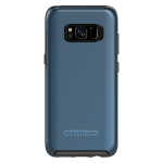 OtterBox Symmetry Case for Samsung Galaxy S8 - Coral Blue (BLACK/CORAL BLUE METALLIC)