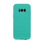 LifeProof Fre Waterproof Case for Samsung Galaxy S8 - Sunset Bay (LIGHT TEAL/MAUI BLUE/MANGO TANGO)