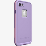 LifeProof fre Waterproof Case for Apple iPhone 8/7 - Chakra Rose/Coral/Lilac