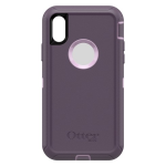 OtterBox Defender Case for iPhone X/XS - Purple Nebula (WINSOME ORCHID/NIGHT PURPLE)