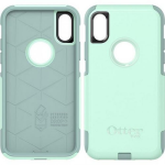 APPLE IPHONE X OTTERBOX COMMUTER CASE-OCEAN WAY (GREENISH BLUE, AQUA)