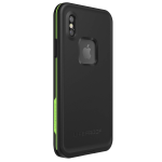 LifeProof FRE Waterproof Case for iPhone X - Night Lite (Black/Lime)