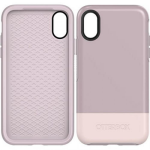 APPLE IPHONE X OTTERBOX SYMMETRY CASE-SKINNY DIP (WHITE, PALE MAUVE)