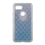 OtterBox Symmetry Case for Google Pixel 2 - Mermaid (Clear/Blue Scales)