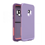 SAMSUNG GALAXY S9 LIFEPROOF FRE CASE-CHAKRA (LILAC, CORAL, PURPLE)