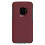 OtterBox Symmetry Case for Samsung Galaxy S9 - Fine Port (CORDOVAN/SLATE GREY)