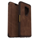 SAMSUNG GALAXY S9 PLUS OTTERBOX STRADA FOLIO CASE-ESPRESSO (ESPRESSO LEATHER, BROWN, DARK BROWN)