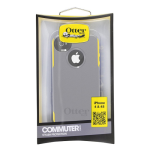 OtterBox Commuter Hybrid Case for Apple iPhone 4 / 4S (Gunmetal Gray/Sun Yellow)