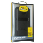 OtterBox Commuter Series Case for HTC Evo 4G LTE (Black)