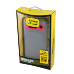 OtterBox Defender Series Case for Motorola RAZR HD (Pink/Gray)