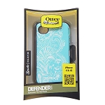 OtterBox Eternality Defender Case for Apple iPhone 4S - Teal/White