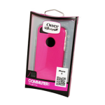 OtterBox Commuter Series Case for Apple iPhone 5/5S (Hot Pink/White)