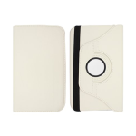 Unlimited Cellular Multi-Angle 360 Stand Folio Case for Samsung Galaxy Tab 3 (8.0) - White