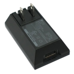 OEM HTC Travel Charger Power Supply for HTC Droid Incredible 2 (Black) - 79H00078-34M-Z
