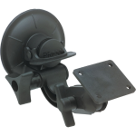 PANAVISE suction window mount with AMPSmounting plate.