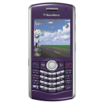 OEM BlackBerry Pearl 8130 PDA Cell Phone - Purple