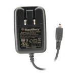 BlackBerry Folding Blade Mini USB Wall Charger