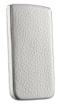 Azra Guanto Pouch for Apple iPhone 4/4S (White) - 816514S