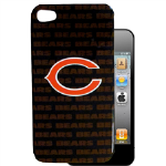 HeadCase NFL Chicago Bears Snap-On Case for Apple iPhone 4 / 4S (Black)
