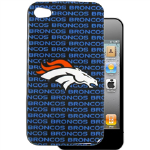 HeadCase NFL Denver Broncos Snap-On Case for Apple iPhone 4 / 4S (Blue)