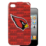 HeadCase NFL Arizona Cardinal Snap-On Case for Apple iPhone 4 / 4S (Red)