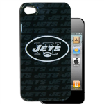 HeadCase NFL New York Jets Snap-On Case for Apple iPhone 4 / 4S (Black)