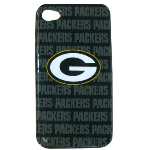 HeadCase NFL Green Bay Packers Snap-On Case for Apple iPhone 4 / 4S (Green)