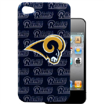 HeadCase NFL St. Louis Rams Snap-On Case for Apple iPhone 4 / 4S (Blue)