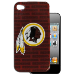 HeadCase NFL St. Washington Red Skins Snap-On Case for Apple iPhone 4 / 4S (Maroon)