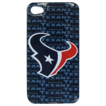 HeadCase NFL St. Houston Texans Snap-On Case for Apple iPhone 4 / 4S (Blue)