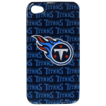 HeadCase NFL Tennessee Titans Snap-On Case for Apple iPhone 4 / 4S (Blue)