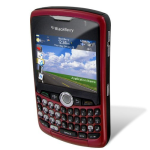 BlackBerry Curve 8330 PDA Phone, Bluetooth, Camera for nTelos - No contract required (Red)