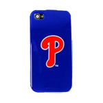 HeadCase MLB Philadelphia Phillies Snap-On Case for Apple iPhone 4 / 4S (Blue)