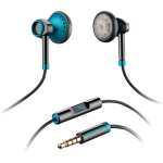 PLANTRONICS BackBeat 116 Corded StereoHeadset. Blue.