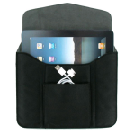 Verizon Universal Tablet Sleeve with Pouch for iPad, iPad 2, iPad 3, iPad 4, Galaxy Tab