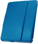 Leather Flip Book Case/Folio for Apple iPad (1st Generation) (Blue)