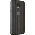 Motorola Shell Style Case for Motorola Z - Charcoal Ash Wood