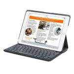 Logitech Canvas Keyboard Case for Apple iPad Air 2 ??? Black