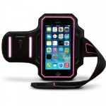 Body Glove Endurance Armband for iPhone 6/6s (Black/Pink)