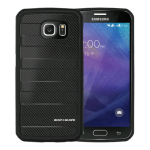 Body Glove Rise Case for Samsung Galaxy S6 - Black Carbon Fiber